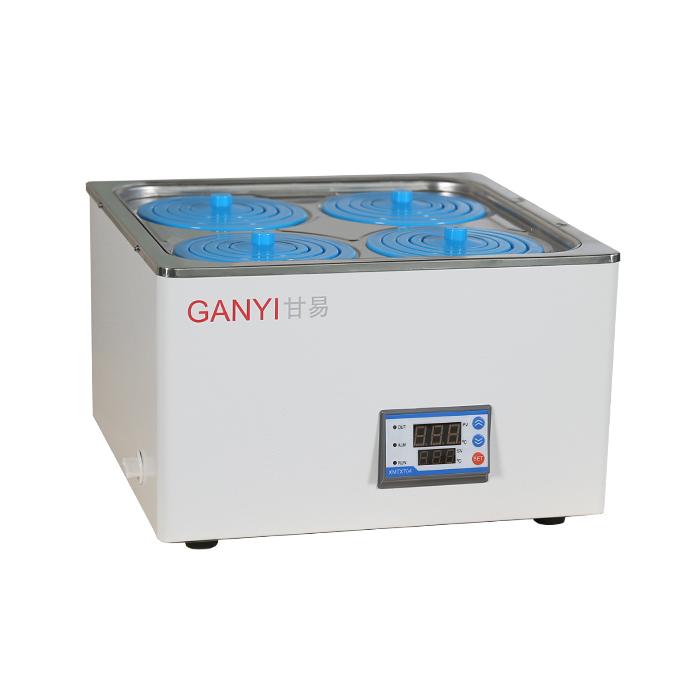 上海甘易HH-14单列四孔电热恒温水浴锅
